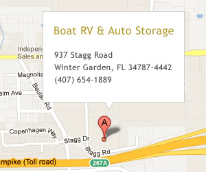 937 Stagg Road, Winter Garden, FL 34787-4442 (Boat RV & Auto Storage)